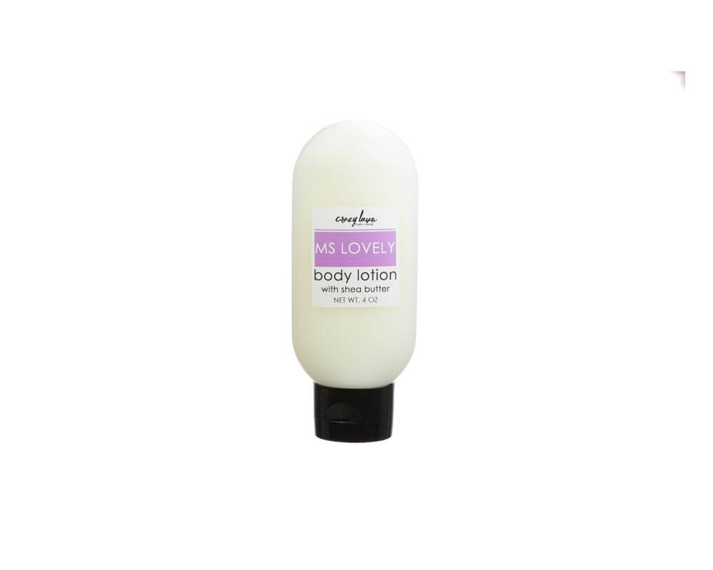 Ms Lovely Shea Butter Lotion - Travel Sized